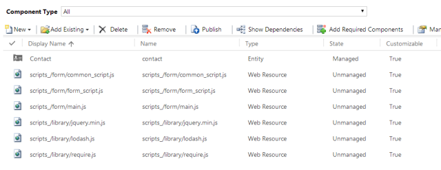 Using RequireJS in CRM2013 | Dreaming in CRM