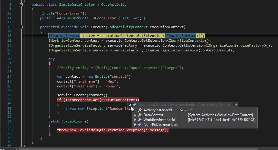 Visual Studio Debug