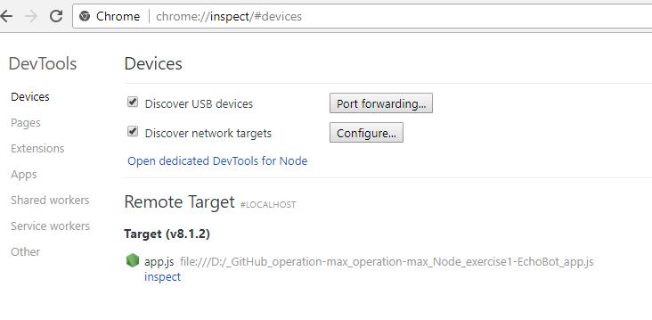 Using Chrome DevTools to debug Bot Framework | Dreaming in