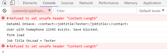 Async Save block does not work