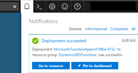 Azure Notifications