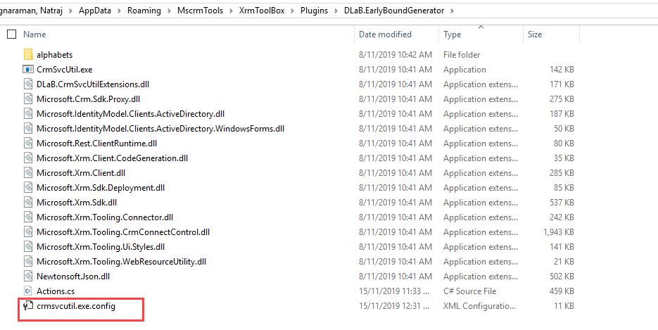 EBG Folder